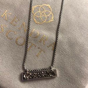 Kendra Scott Leanor Silver Pendant Necklace
